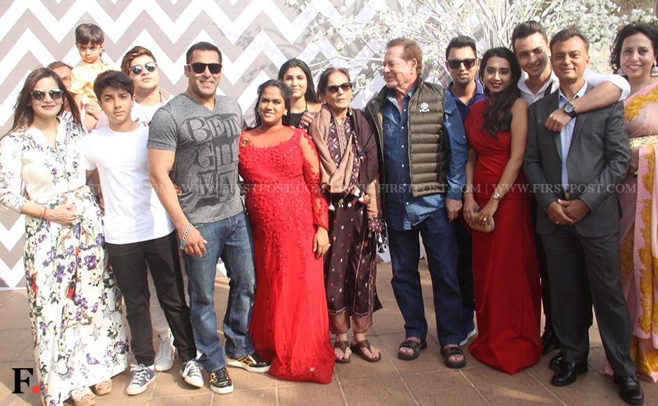 Behno ka bhai: Salman Khans sister Arpita Khan-Sharma has a starry baby shower