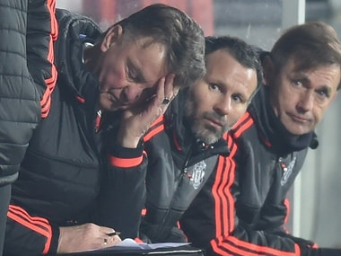 Louis van Gaal refused to take the blame for Manchester United's latest humiliation. Getty Images