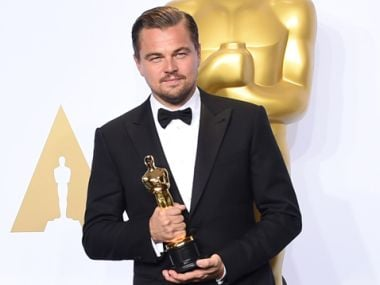 Watch: Leonardo DiCaprio says all the right things during Oscar acceptance speech