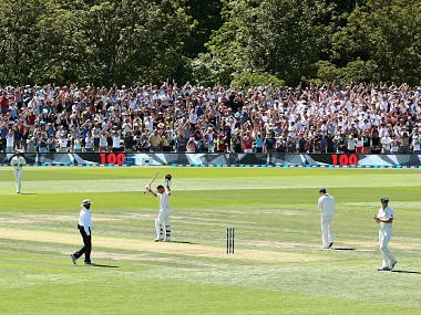 McCullum smashes fastest Test century, shatters records to rescue New Zealand on day one