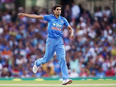 Ashish Nehra vs Australia. Getty Images