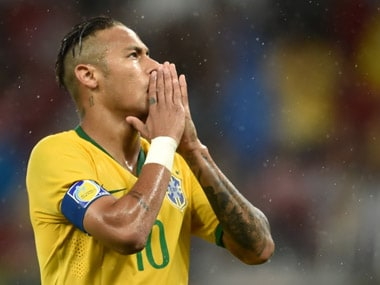 File photo of Neymar. Getty Images