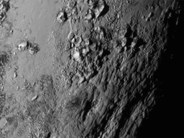 File photo of Pluto captured by Nasa's New Horizon. AP