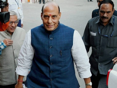 Congress delegation meets Rajnath over issues faced by civic employees in Delhi