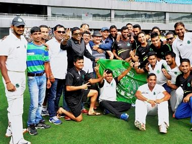 File image of Assam Ranji team from the group stages. PTI