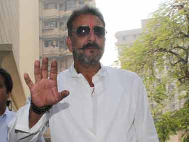 Signing off with a salute: Sanjay Dutt walks out of Yerwada jail after serving his sentence