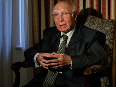 JeM chief Masood Azhar is in protective custody in Pakistan: Sartaj Aziz