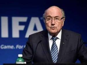 Former Fifa President, Sepp Blatter AP
