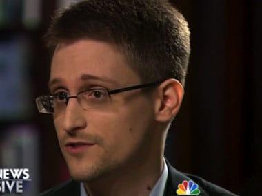 Edward Snowden. AP