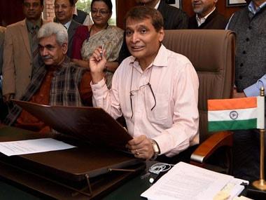 File image of Suresh Prabhu. PTI