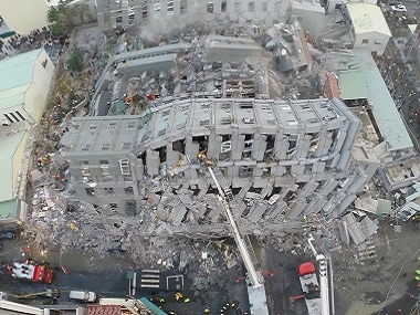 More than 100 people killed in Taiwan earthquake; over 500 injured