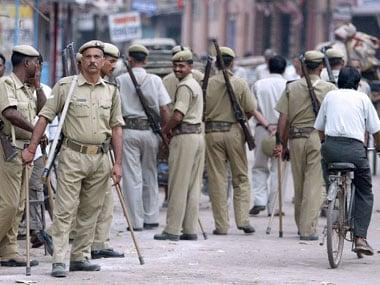UP Police. Representational image. AFP