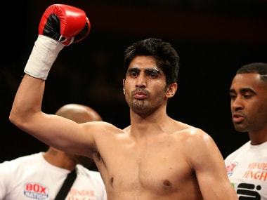 Replying with punches: Vijender dedicates victory to Pathankot martyrs after fourth successive pro-bout win