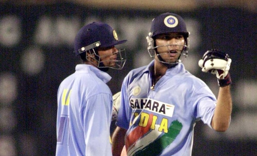 Mohammad Kaif and Yuvraj Singh came out of the same U-19 team that won the World Cup in 2000. AFP