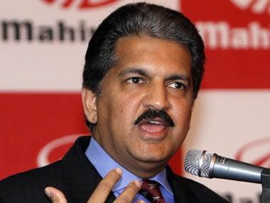 Anand Mahindra, chairman, Mahindra & Mahindra. Reuters