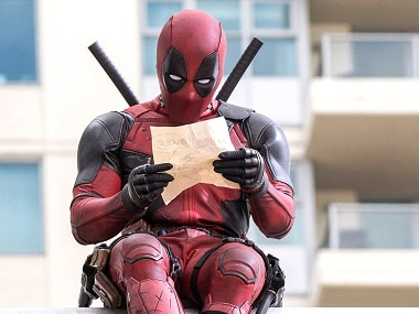 Real heroes: The opening credits of Deadpool are like a roast of every Hollywood superhero film