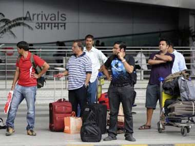 Delhi-airport. File photo. AFP