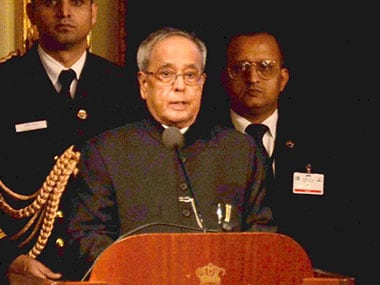 Pranab Mukherjee. FIle photo. PTI