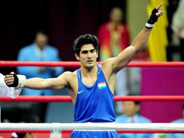 Indian boxing star Vijender Singhs next pro bout postponed to April 30