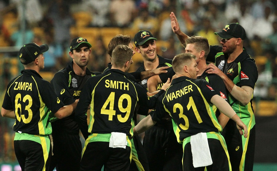 Khawajas blazing 50 helps erratic Australia beat Bangladesh by 3 wickets in World T20