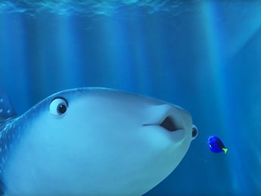 A screen from the new Finding Dory trailer.