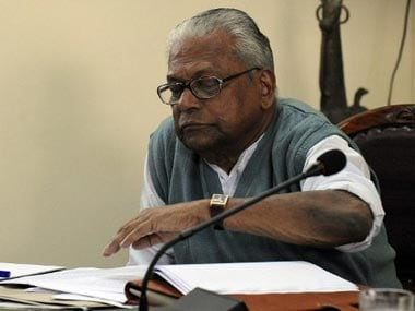 A file photo of VS Achuthanandan. AFP