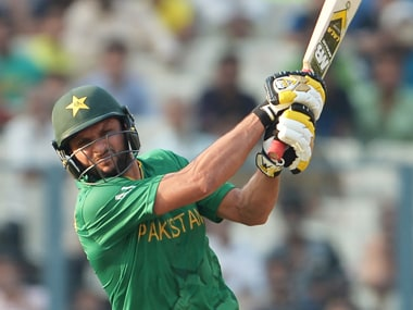 File photo of Shahid Afridi. AFP