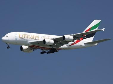 Emirates Airbus. Reuters