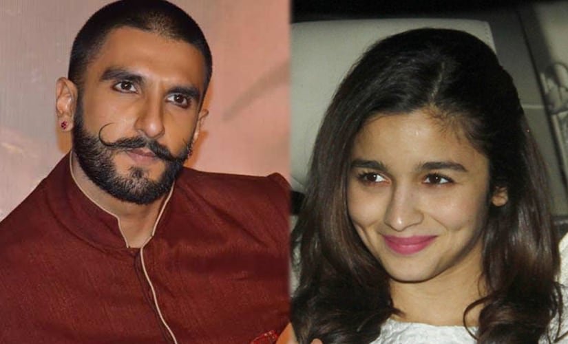 Ranveer SIngh (L) and Alia Bhatt have teamed up for a 'mystery project'.