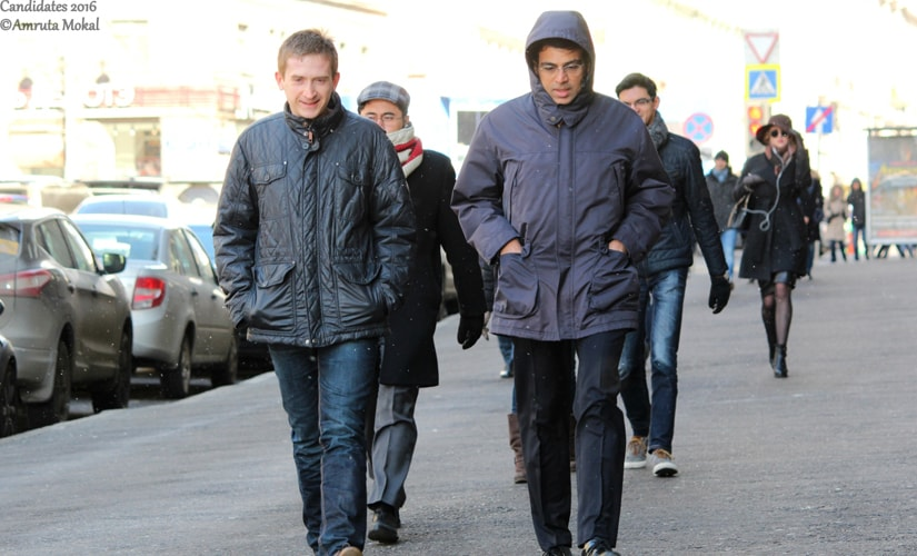 Anand's second Grzegorz Gajewski walks every day with the Indian super GM to the tournament hall from the hotel. He is one of the people who is responsible for Vishy's excellent opening preparation at this event. Amruta Mokal