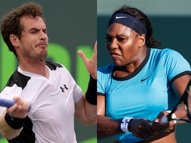 Miami Open roundup: Serena Williams, Andy Murray knocked out on a day filled with upsets