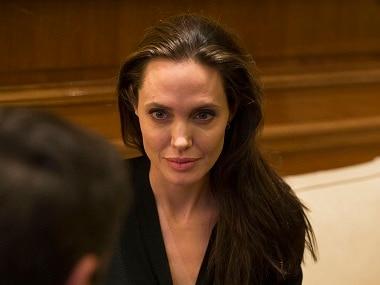 Angelina Jolie. AP