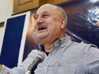 A file photo of Anupam Kher. PTI