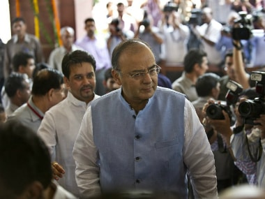 Difficult to accept demand of Congress to cap GST rate, says Arun Jaitley