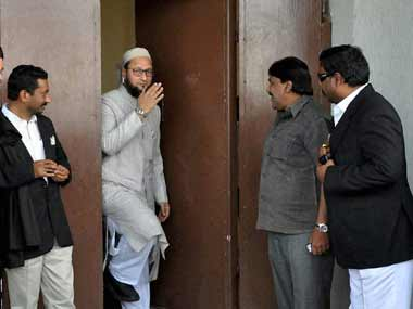Hyderabad MP Owaisi clashes with Najma Heptulla in Lok Sabha
