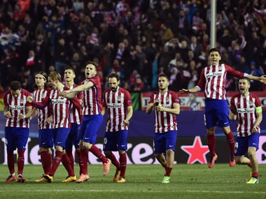 Champions League: Atletico reach quarters, edging out PSV Eindhoven in 15-goal penalty thriller