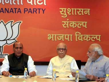 BJP-Rajnath-Advani-Modi--Parl-Board-PTI