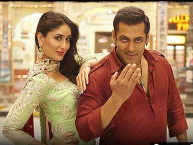 Kareena Kapoor and Salman Khan in Bajrangi Bhaijaan. Image from Facebook
