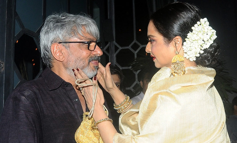 Rekha, Ranveer, Aishwarya: Bhansali celebrates National Film Awards win with favourite stars