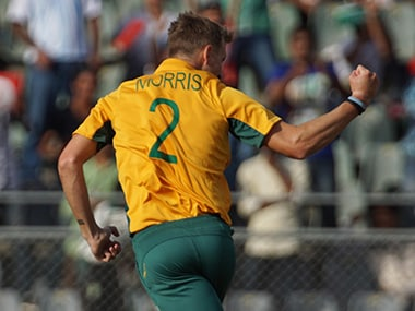 But for Chris Morris' MoTM display, South Africa's bowling did not impress. Solaris Images