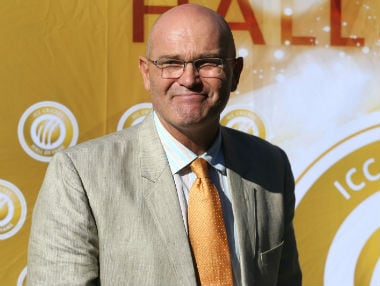 File picture of Martin Crowe. AFP