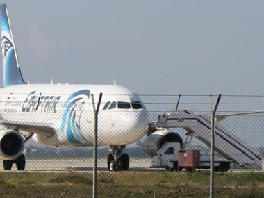 EgyptAir Hijack: Four crew members and three passengers onboard with Hijacker, most passengers freed