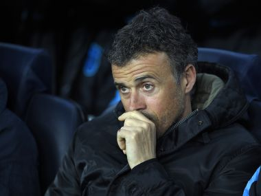 Barcelona manager, Luis Enrique. AFP