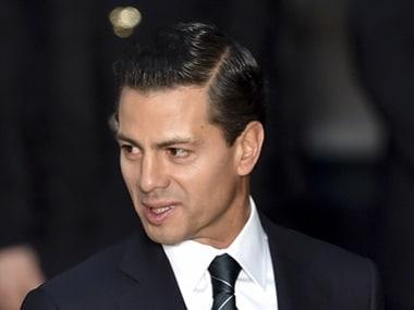 Mexico's President Enrique Pena Nieto. AFP