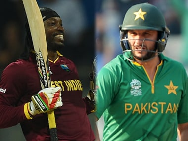 Big hitters a big hit! Watch Afridi and Gayle announce batsmens arrival in World T20