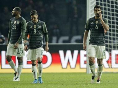 International friendlies: European powerhouses clash as shell-shocked Germany host bogey side Italy