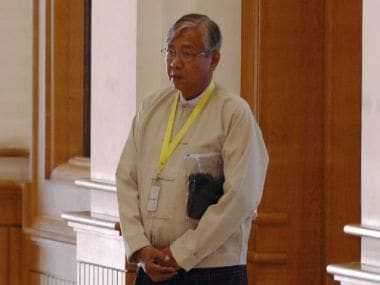 Historic moment for Myanmar as it elects its first civilian President in decades