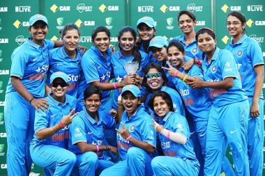 Indian Women's Cricket team. GettyImages