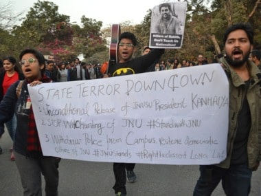 JNU students slam report findings, refuse to reply to show cause notices