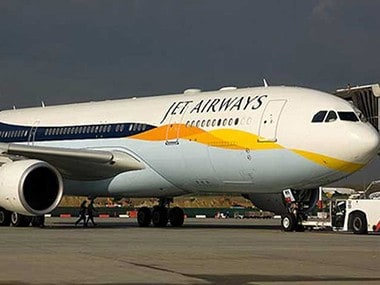 A file image of a Jet Airways aircraft. PTI